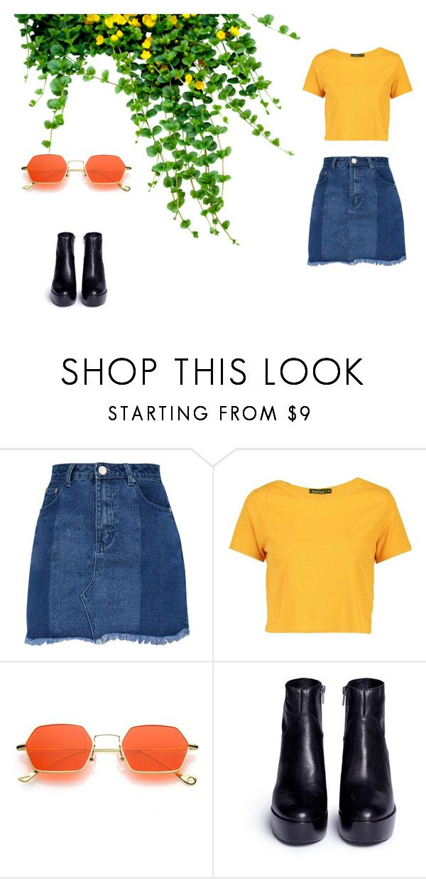 """#6"" by chloe-pickering on Polyvore featuring Boohoo and Ash"