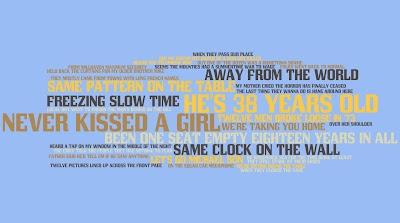 38 Years Old - The Tragically Hip > Digital Lyric Art