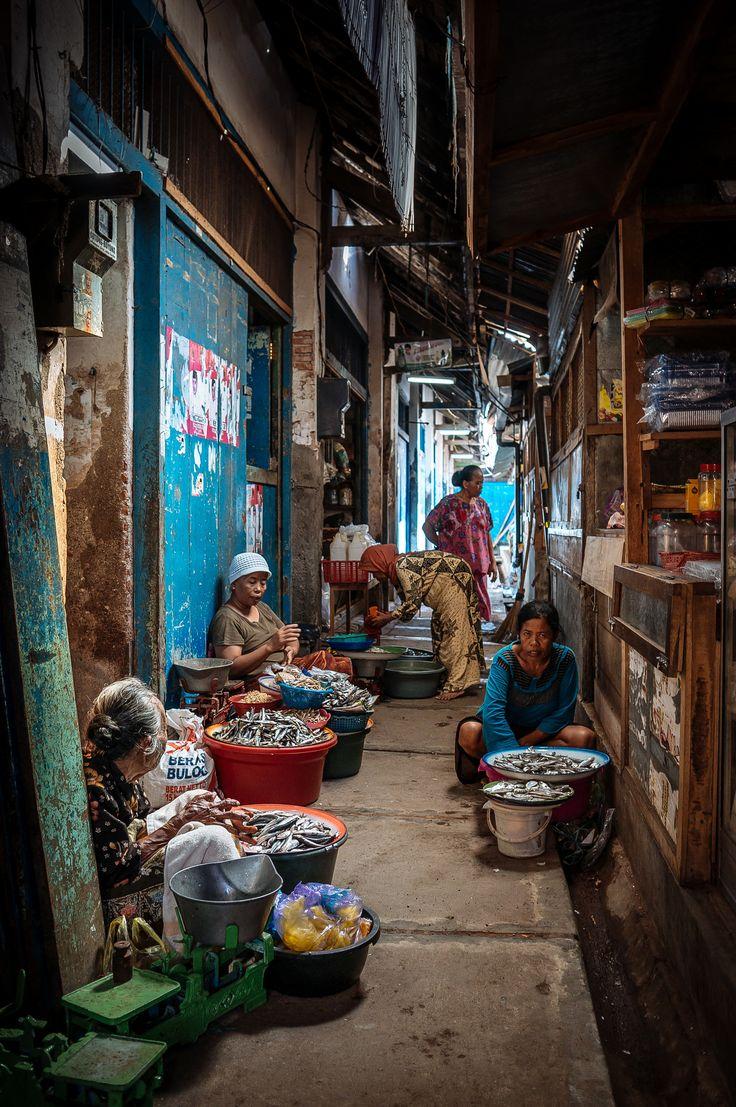 Banyuwangi Traditional Market . Java Indonesia