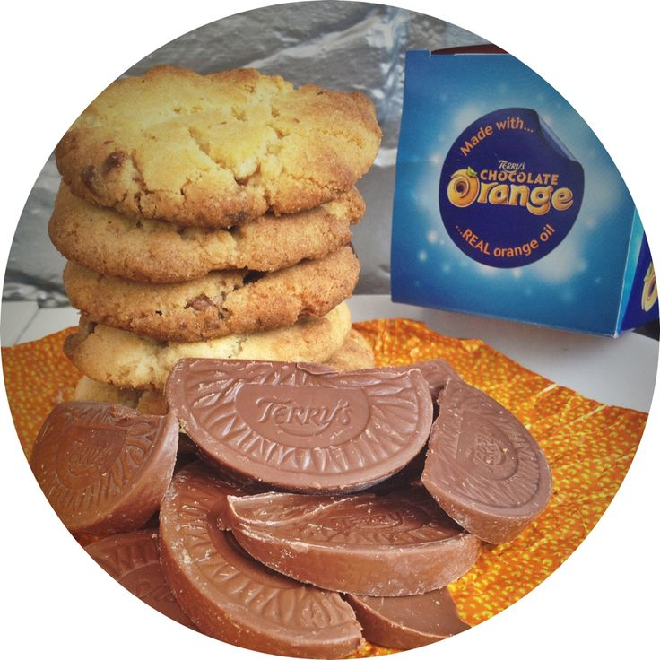 Terry's Chocolate Orange Cookies Recipe |  There's something outrageously delicious about tossing handfuls of chopped up chocolate orange into cookie dough, the smell when cooking is mouthwatering and the taste well... just try them and see...