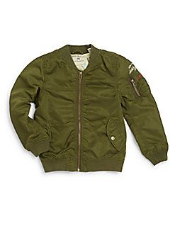 Scotch Shrunk - Toddler's, Little Boy's & Boy's Bomber Jacket