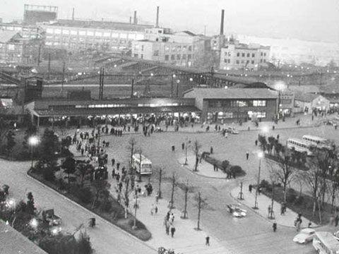 昭和31年 川崎駅(1956年)