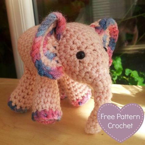 Advanced Amigurumi Shapes : 25+ best ideas about Crochet elephant pattern on Pinterest ...