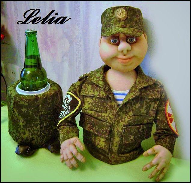 """Медные кружева"" Ольги Шевченко: Кукла-бар"