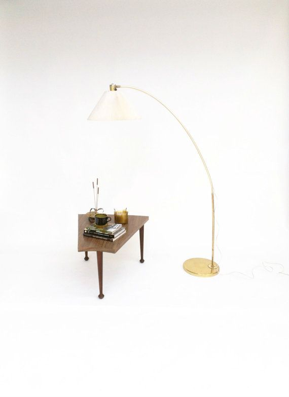 arc floor lamp vintage brass floor lamp floor lamps modern and mid. Black Bedroom Furniture Sets. Home Design Ideas