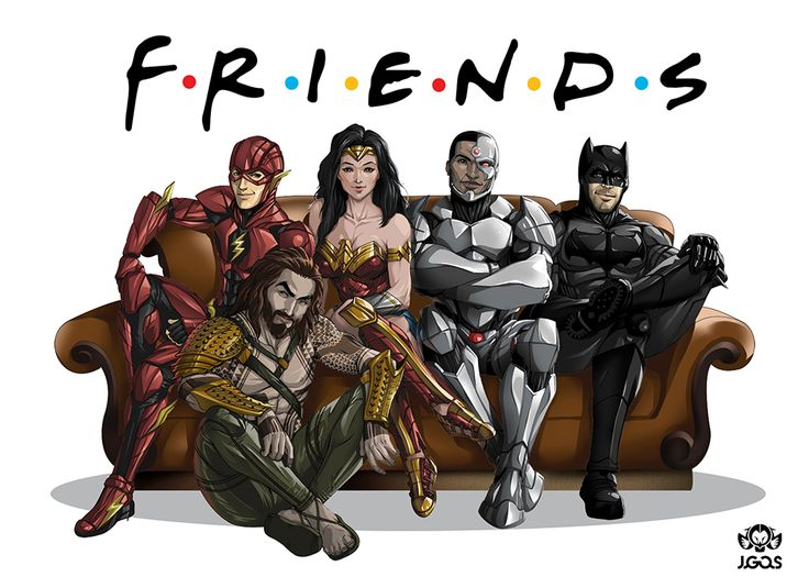 Justice FRIENDS League by Jgass.deviantart.com on @DeviantArt