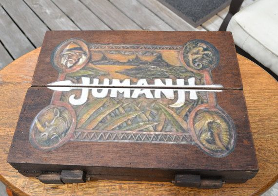 Jumanji 1:1 Scale Wooden Board Game Prop Replica by AtticReplicas