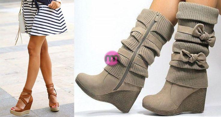 #wedge shoes/boots => http://www.giyimvemoda.com/dolgu-topuk-ayakkabibot-nasil-giyilir.html