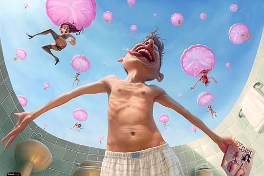 Stunning 3d Illustrations by Tiago Hoisel