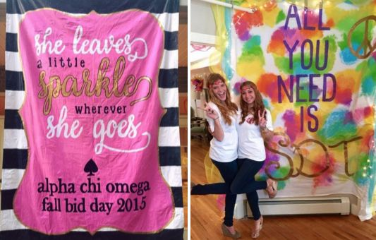 🍭 super sorority sayings BY CHAPTER for tee shirts... |