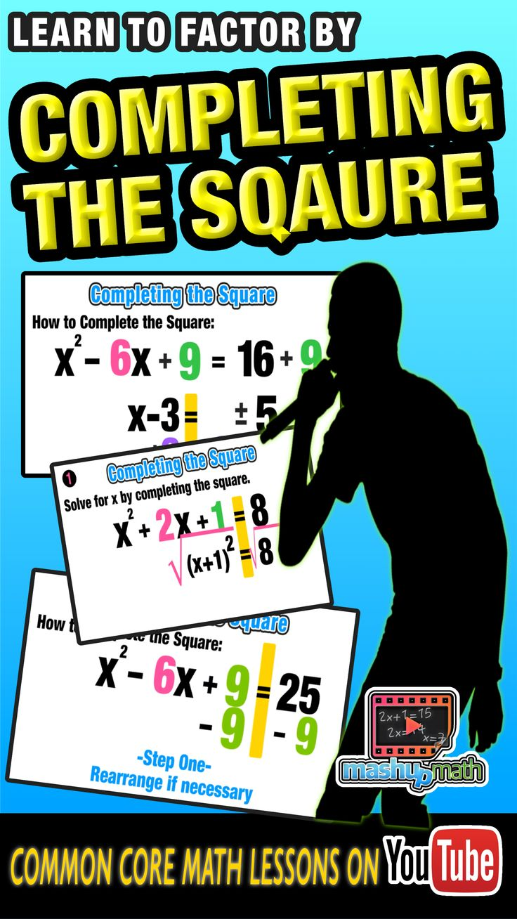 Our Animated Algebra Ii Lesson Onpleting The Square Will Help You To  Boost Your Factoring
