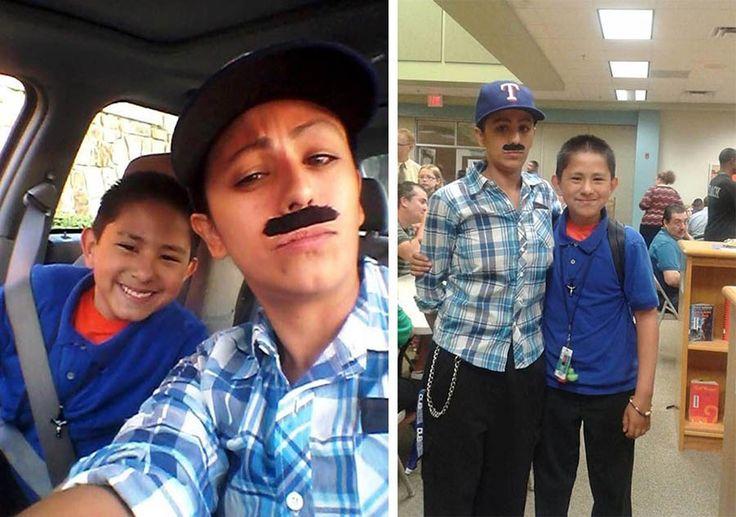 Когда мать-одиночка Иветт Васкес (Yevette Vasquez) отводила своего сына в школу…
