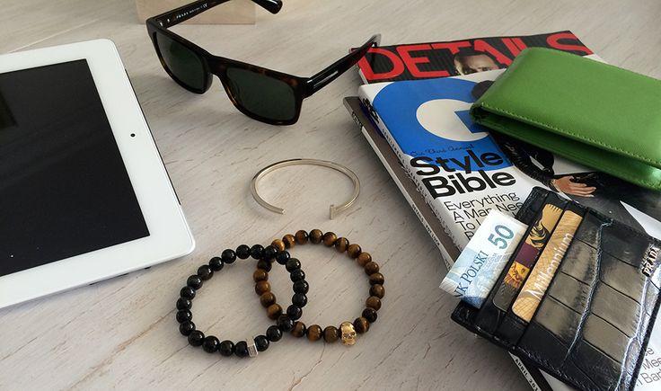 Niezbędnik modnego mężczyzny - bransoletki i skórzane akcesoria od SCALLINI.  Więcej na www.scallini.pl