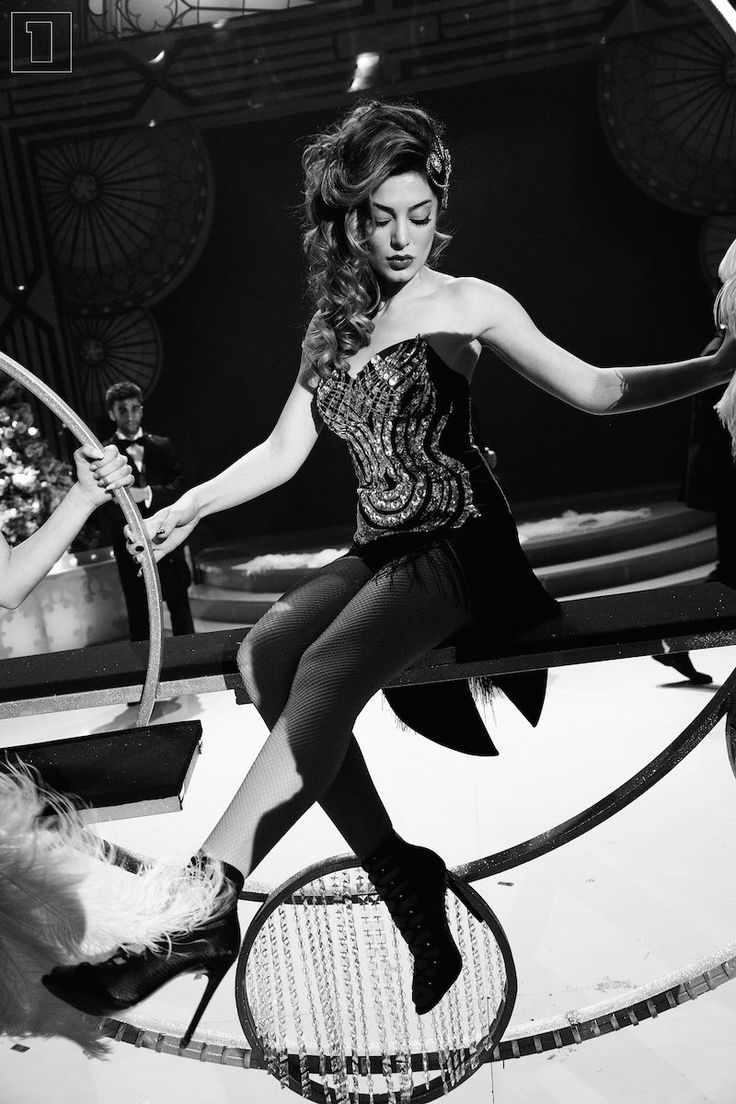 "Iveta Mukuchyan: ""Diamonds Are a Girl's Best Friend"" on AMPTV New Year Show"