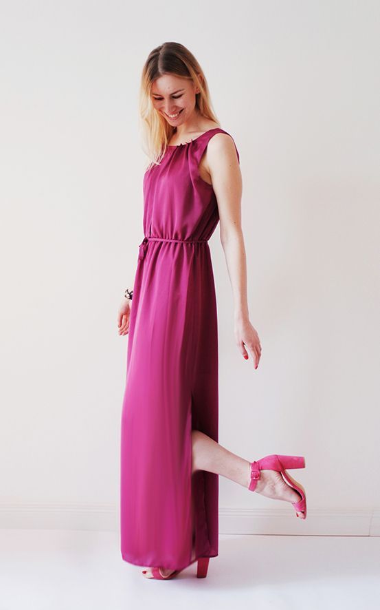 I FEEL HAPPINESS MAXI DRESS Actually its a day dress. and you can feel all types of emotions in it. So its your own matter what to feel. lalala  #long #summer #maxi #dress #woman #womens #flowy #silky #pink #blush #pale #formal #evening #prom #romantic #simple #simplicity #cocktaildress #sexy #boho #bohemian #bohochic #elegant #beautiful #stylish #style #trend #trendy #fashion #fashionista #fashionable #fuchsia #shift #maxi #simple #minimalism #violet #purple