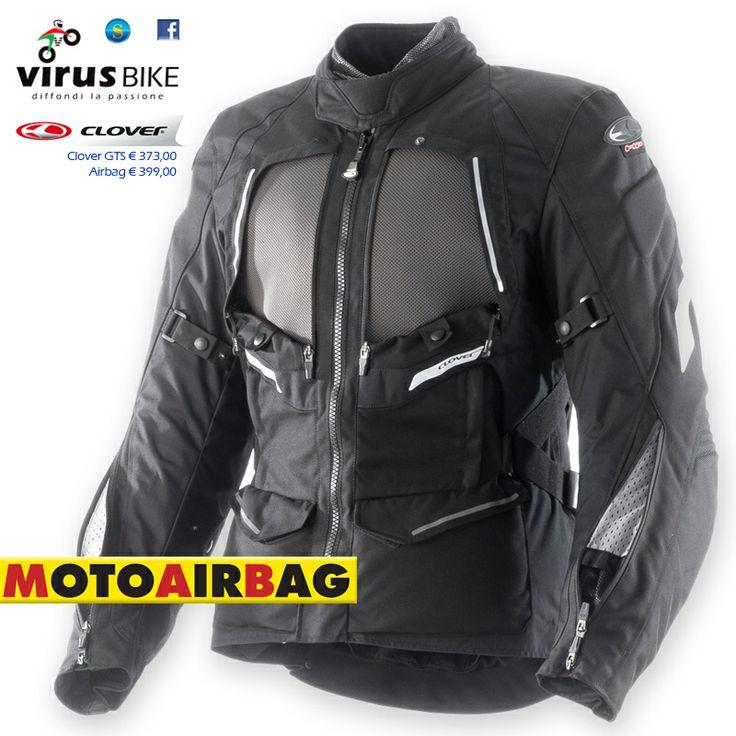Clover GTS Airbag disponibile presso Virus Bike Salerno. virusbike@libero.it
