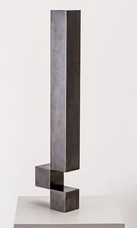 Stephan Siebers CUBE III 2009 Stahl, patiniert Höhe 47 cm / 152 cm Auflage 10 / 3