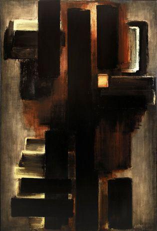 Pierre Soulages - 1953