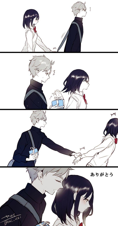 """Shimizu Kiyoko"" ""Sugawara Koushi"""