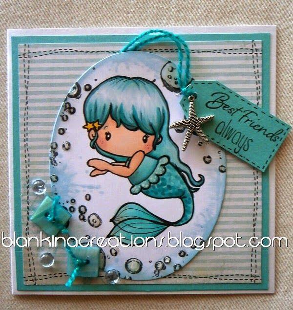 Copic Italia: Mermaid Lucy