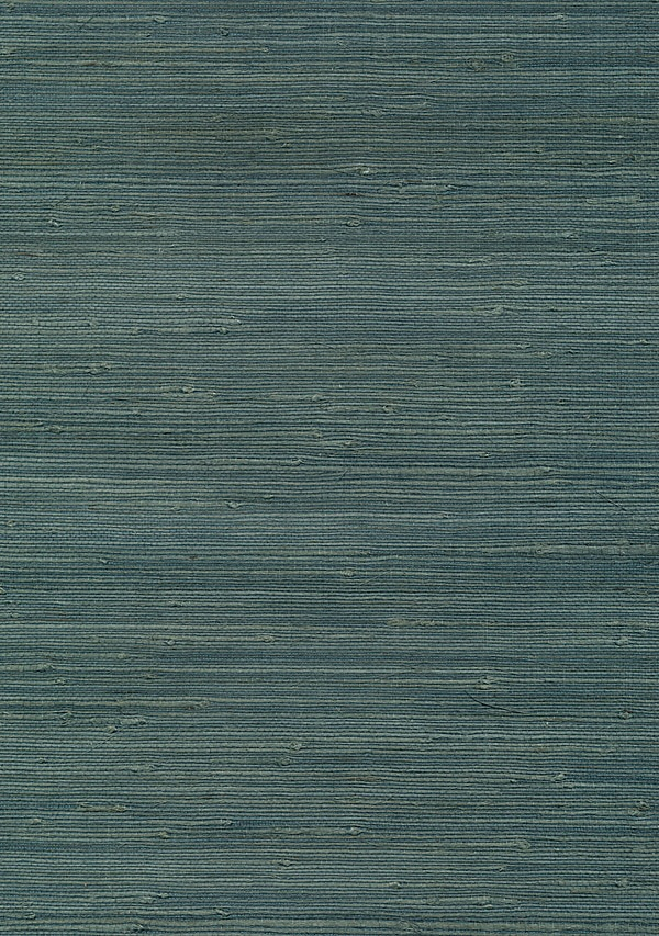 Teal Grasscloth Wallpaper Livingroom2