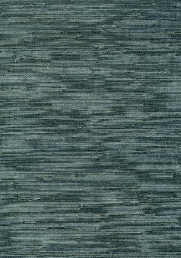 Teal Grasscloth Wallpaper LivingRoom2