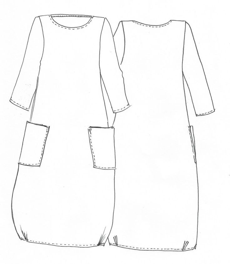 Lily Linen Dress Pattern - Patterns - Tessuti Fabrics - Online Fabric Store - Cotton, Linen, Silk, Bridal & more. A-line with tucks at the side seams.