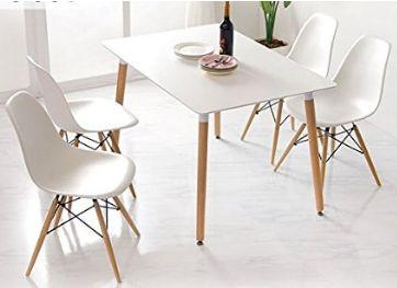 mesa y sillas comedor estilo nordico amazon