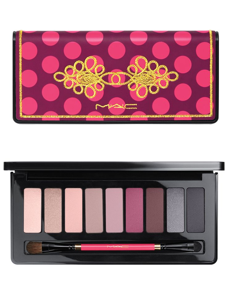 MAC Nutcracker Sweet Holiday 2016 Collection -- Cool Eye Palette
