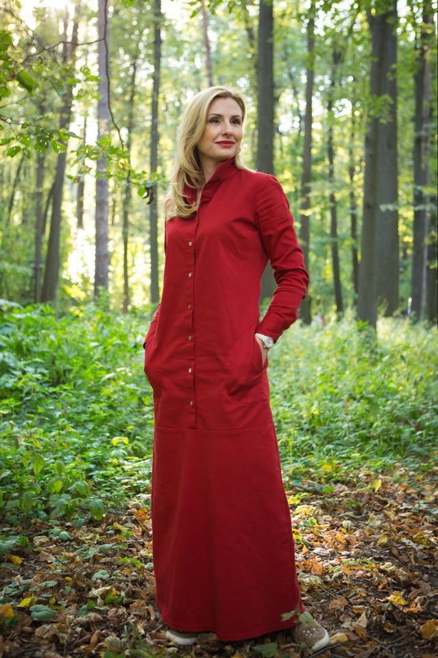 платье из коллекции Осень 2014 хлопок 100%