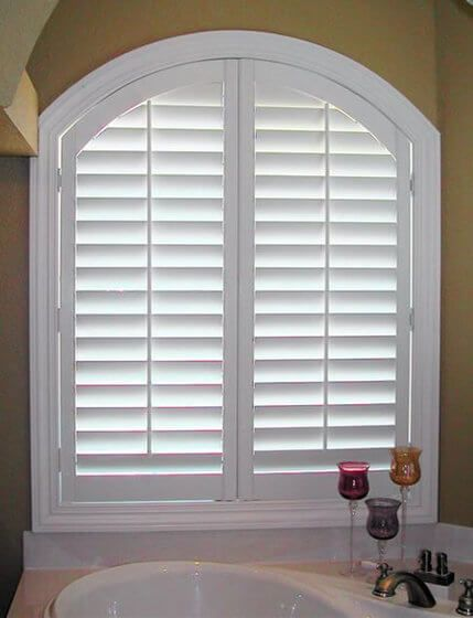 Arched Window Shutters Essex
