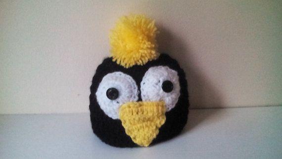 Crochet penguin hatbaby penguin hatpenguin by crochetfifi on Etsy