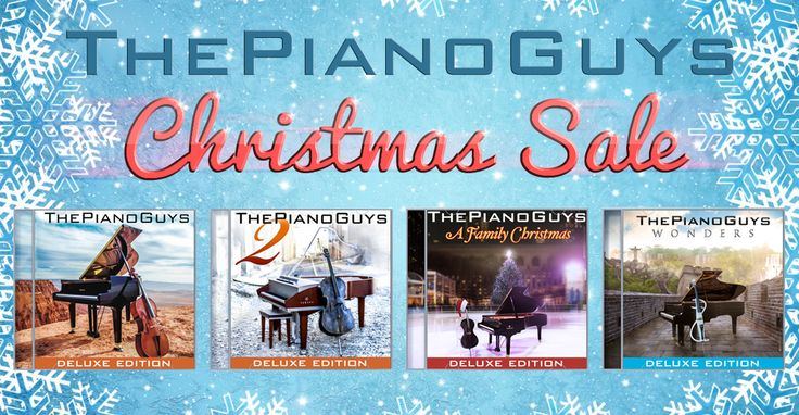The Piano Guys Christmas Sale!.