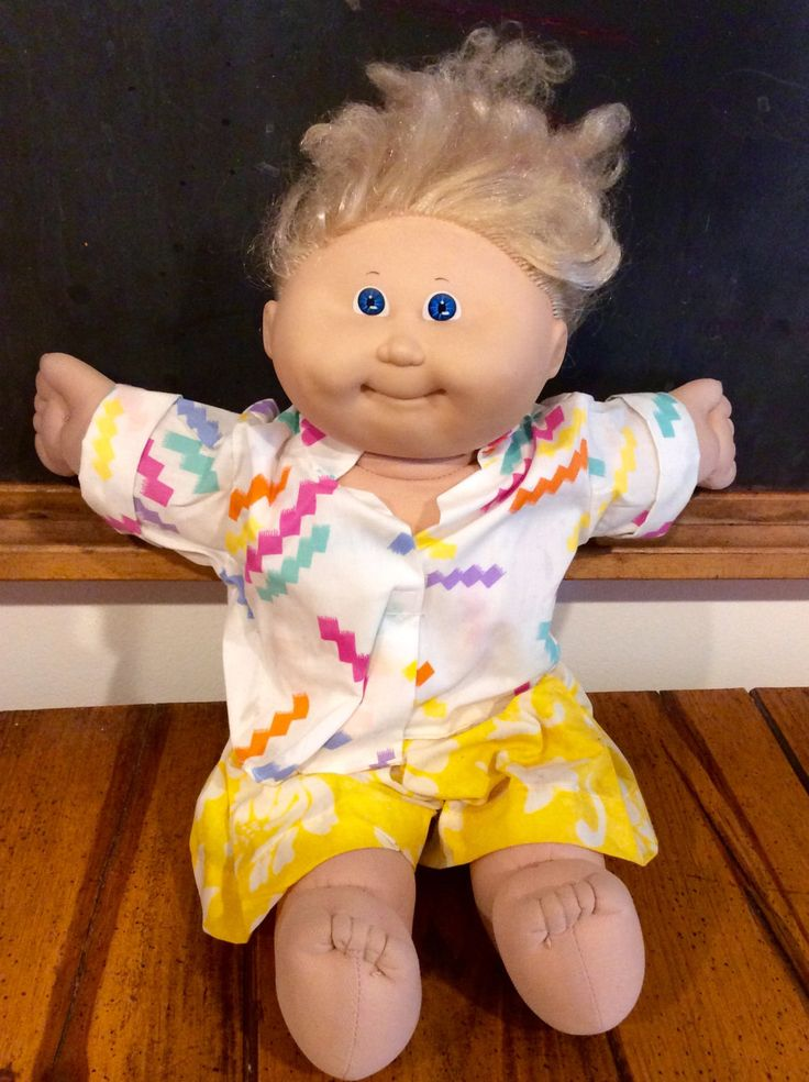 1986 Cornsilk Cabbage Patch Kids Doll, Cabbage Patch Kids, Vintage CPK, Coleco Cabbage Patch Kids, OAA, Cornsilk CPK, Xavier Roberts Dolls by Lalecreations on Etsy