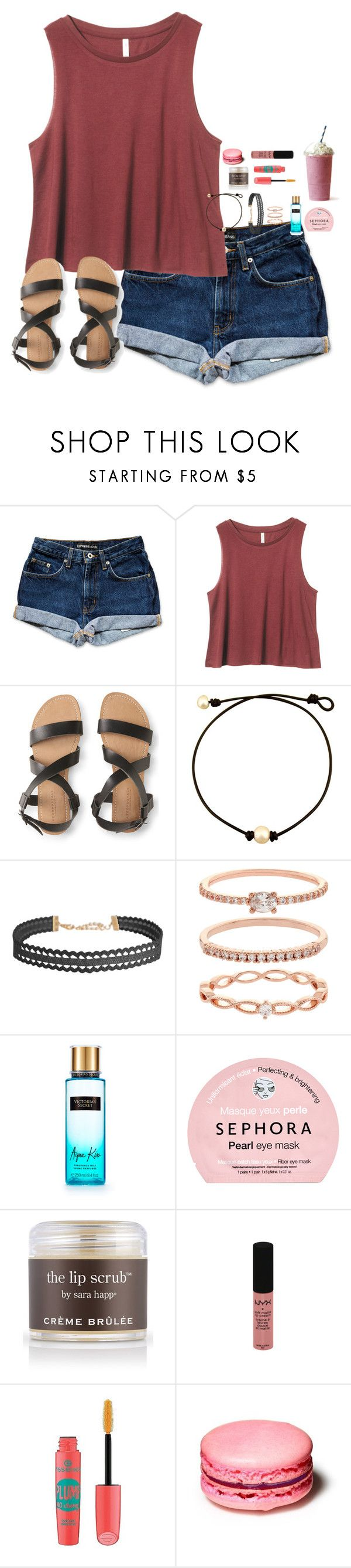 """""""sorry I was gone, i didn't have a good signal"""" by simplyytorii ❤ liked on Polyvore featuring Aéropostale, Humble Chic, Accessorize, Victoria's Secret, Sephora Collection, Sara Happ, NYX and Essence"""