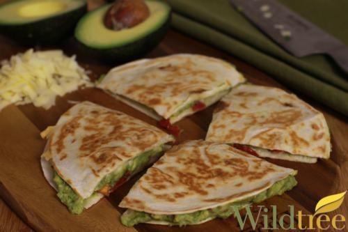 Avocado & Sun Dried Tomato Quesadillas - Wildtree Recipes