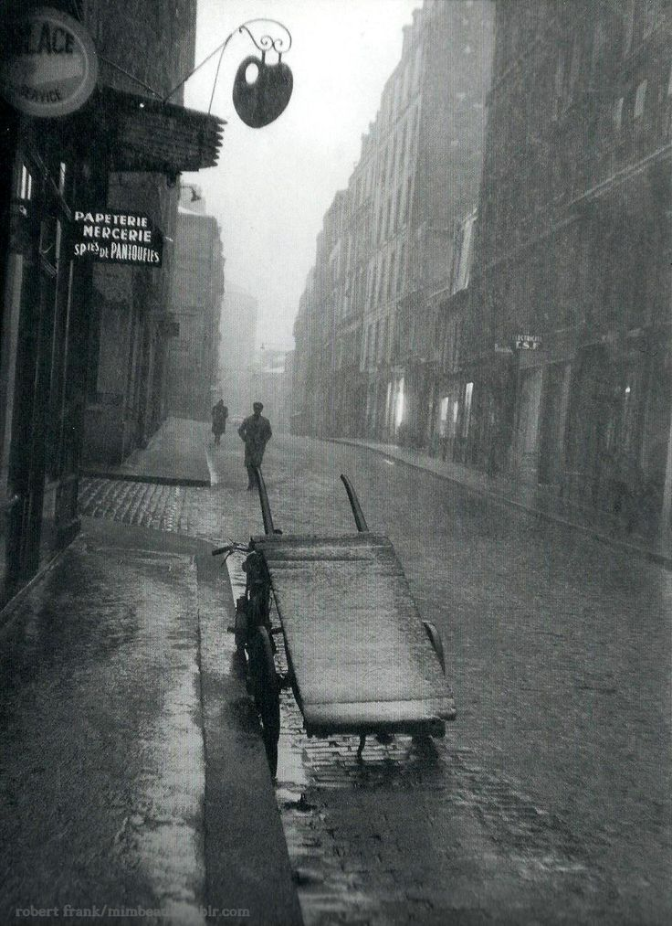 Paris 1950s Robert Frank