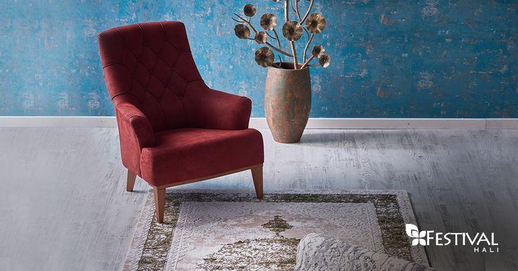 Farklı renk seçenekleriyle Nişantaşı salon halısı, 675 TL fiyat avantajıyla şimdi ayağınızın değdiği her yerde. www.festivalhali.com 8126A Yeşil