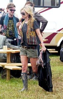 The Best Celebrity Rain Boot Looks Kate Moss Hunter Boots