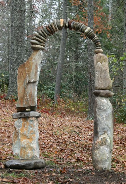Grovewood Gallery, Asheville NC Crafts | Carl Peveralls Stone Arch - beautiful!