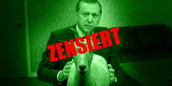 Respekt vor dem Gesetz: Tagespresse zeigt zugespieltes Sex-Tape mit Erdogan und Ziege nicht