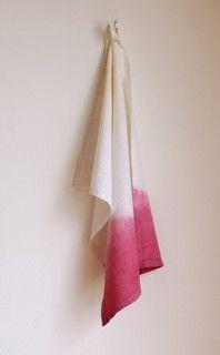 Ombré Kitchen Towel - contemporary - dishtowels - other metro - by bonnbonn