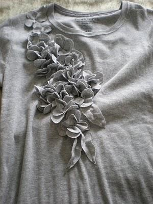 Embellished T-shirt  - DIY- Click picture for tutorial