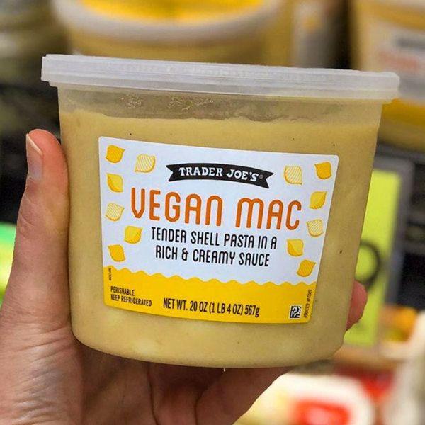 9 Easy Ways To Jazz Up Trader Joe S Vegan Mac And Cheese In 2020 Trader Joes Vegan Vegan Mac And Cheese Trader Joes