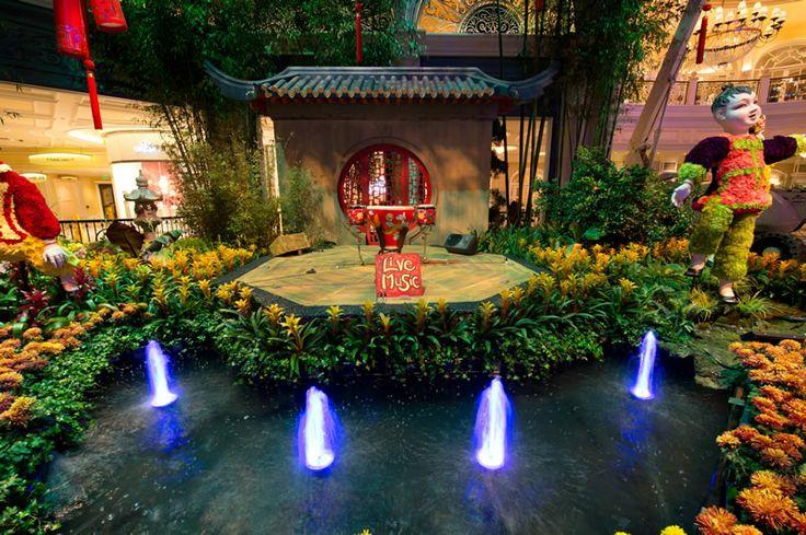 Bellagio Botanical Gardens Las Vegas Chinese New Year 2014 Bellagio Botanical Gardens