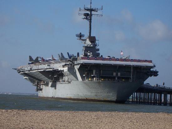 The USS Lexington - Corpus Christi, TX