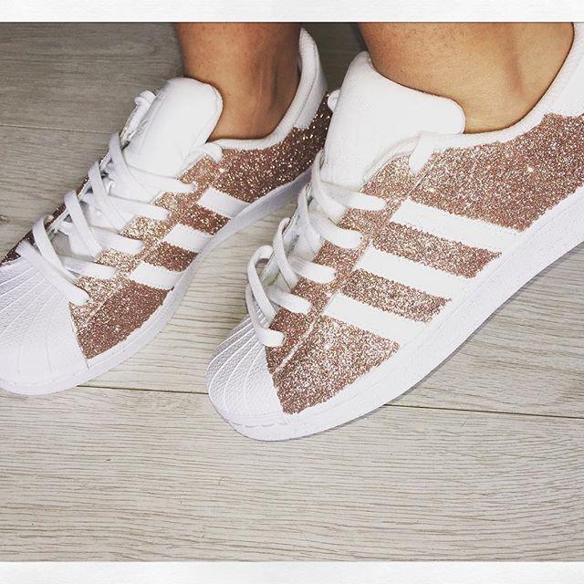 adidas superstar glitter dames