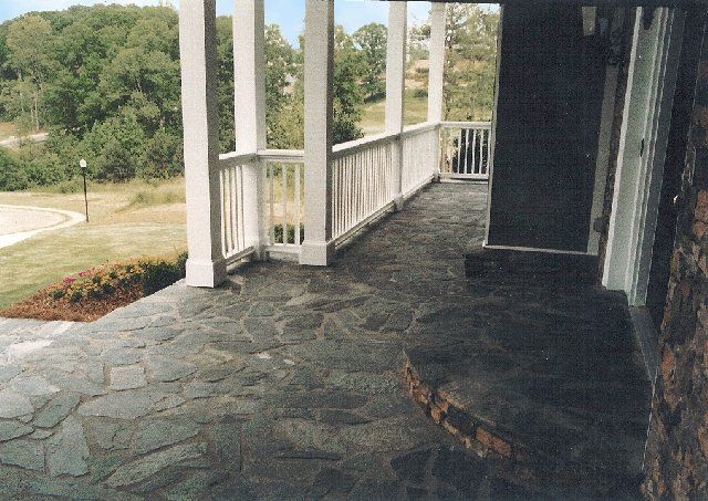 Best Patios And Pathways Images On Pinterest Natural Stones - Different types of patios