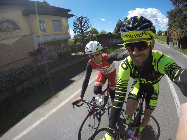 Team DuePi: Davide Viganò in allenamento