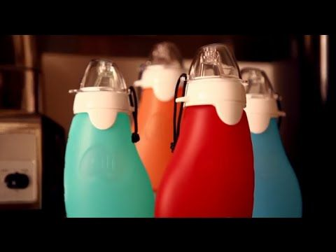 The Sili Squeeze - Reusable Food Pouch